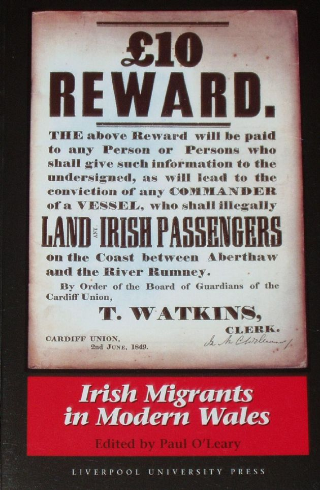 Irish Migrants in Modern Wales, edited by Paul O'Leary